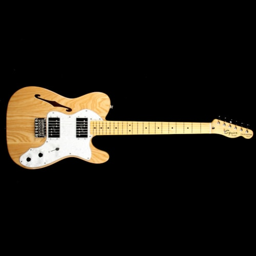 Squier Vintage Modified '72 Telecaster Thinline Natural Brand New $449.99