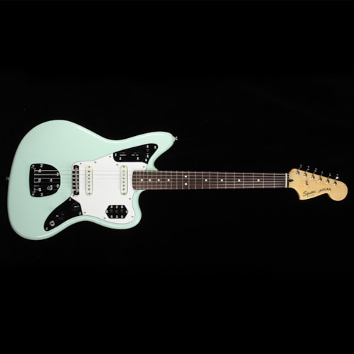 Squier Vintage Modified Jaguar Surf Green Brand New $399.99