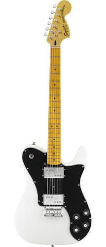 Squier Vintage Modified Telecaster Deluxe - Olympic White Brand New