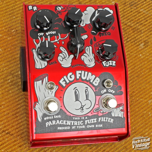 Stone Deaf FX Fig Fumb Paracentric Fuzz Pedal Brand New $249.99