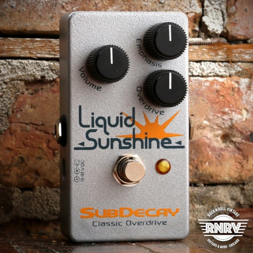 Strymon SubDecay Liquid Sunshine Brand New, $149.00