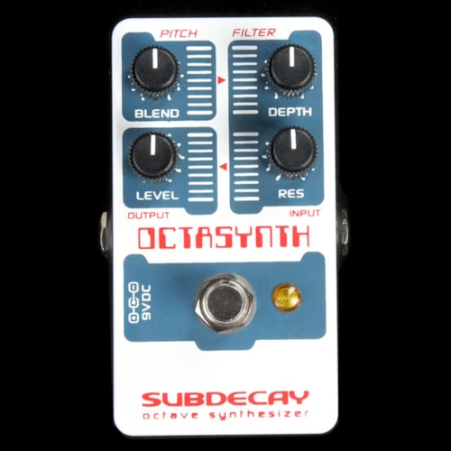 Subdecay Octasynth Octave Synthesizer Effects Pedal Brand New $159.00