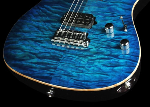 Suhr 2010 Limited Edition Set Neck Modern Electric Guitar Aqua Burst Brand New, $4,410.00