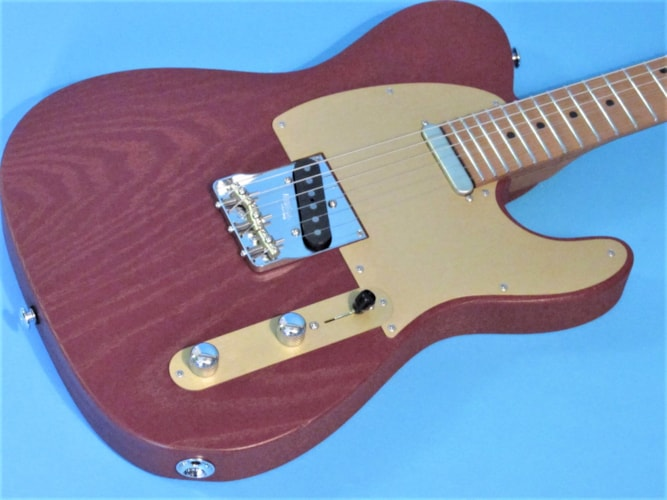 Suhr Andy Wood Signature Iron Red, Brand New, Hard, $3,495.00