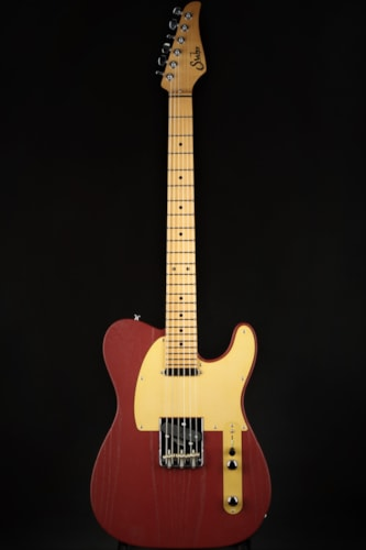 Suhr Andy Wood Signature Modern T - Iron Red