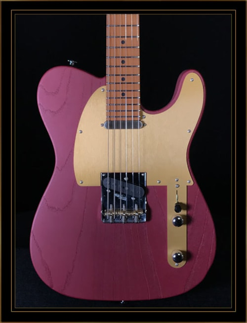 Suhr Andy Wood Signature Modern T Iron Red Gt Guitars