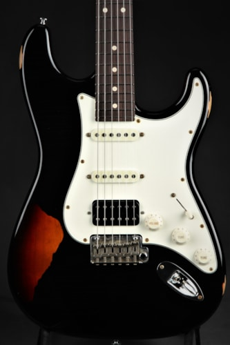 Suhr Classic Antique Pro HSS Limited - Black Over 3 Tone Sunburst Brand New, GigBag, $2,845.00