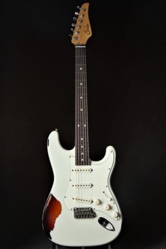 Suhr Classic Antique Pro SSS Limited - Olympic White Over 3 Tone  Brand New, GigBag, $2,845.00
