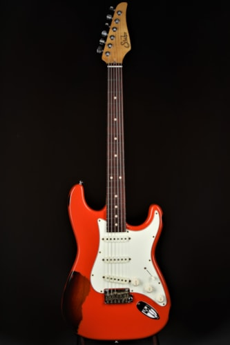 Suhr Classic Antique Pro SSS Limited - Fiesta Orange Over 3 Tone  Brand New, Soft