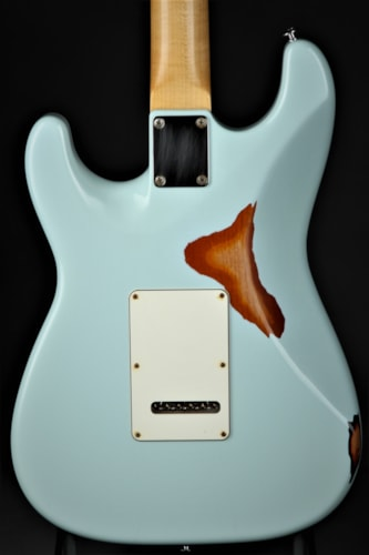 Suhr Classic Antique Pro SSS Limited - Sonic Blue Over 3 Tone Sun Brand New, GigBag