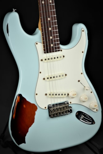 Suhr Classic Antique Pro SSS Limited - Sonic Blue Over 3 Tone Sun Brand New, GigBag, $2,845.00