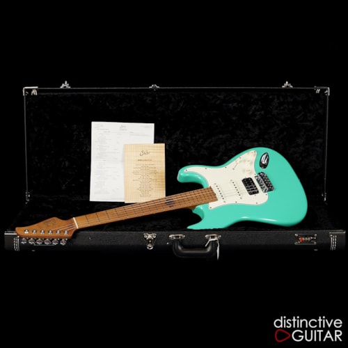 Suhr Classic Antique Roasted Recovered Sinker Maple  Seafoam Green, Brand New, $3,985.00