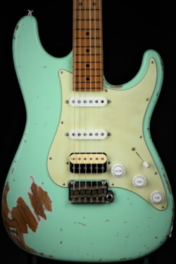 Suhr Classic Antique Roasted - Surf Green