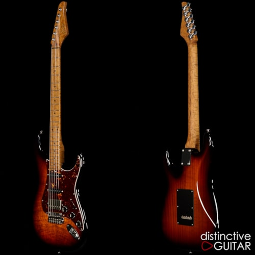 Suhr Classic Custom 3 Tone Burst Waterfall Bu, Brand New, Original Hard, $4,835.00