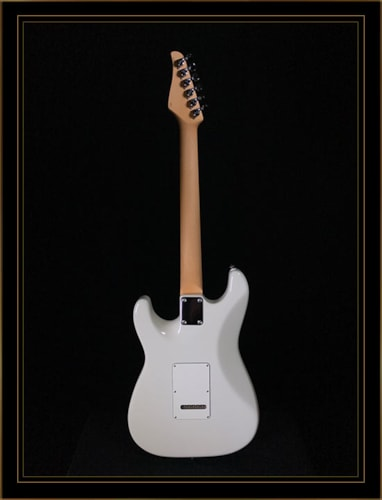 Suhr Classic S HSS with Rosewood Fretboard in Olympic White