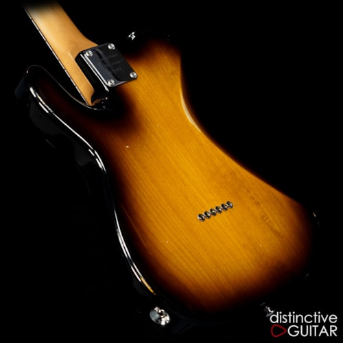 Suhr Classic T Antique Roasted Recovered Sinker Maple  2 Tone Tobacco Burst, Brand New, Original Hard, $3,985.00