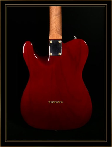 Suhr Classic T Deluxe in Aged Cherry Burst
