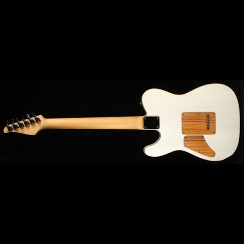 Suhr Classic T Zebrawood Electric Guitar Trans White Brand New, $5,497.80