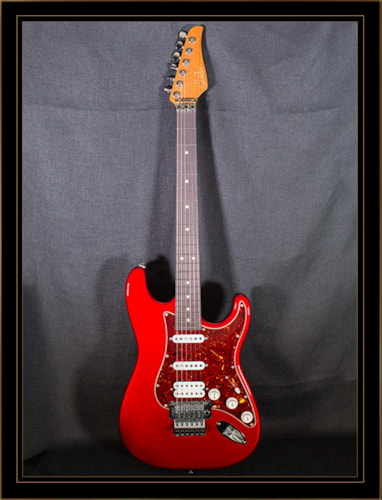 Suhr Custom Classic Candy Apple Red, Brand New, Original Hard, $2,996.00