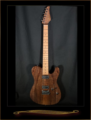 Suhr Custom Classic T with Figured Walnut Top and Chambered Body Gloss Natural, Brand New, Hard, $3,836.00