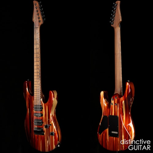 Suhr Custom Modern Root Beer Drip, Brand New, Original Hard, $3,865.00