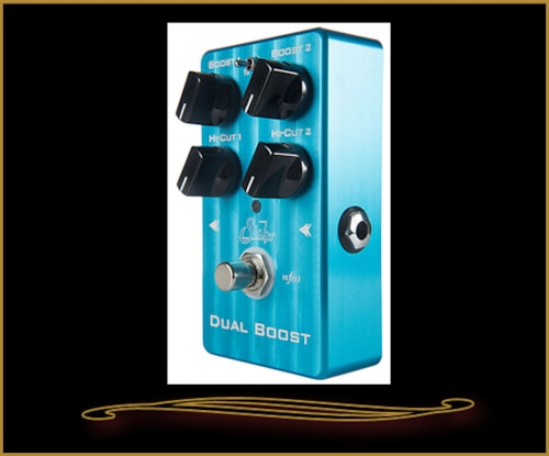 Suhr Dual Boost Pedal Blue, Brand New