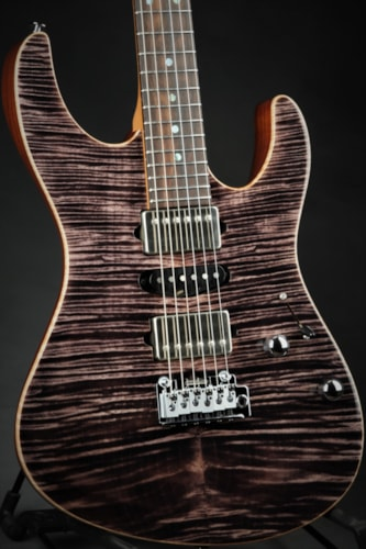 Suhr Eddie's Guitars Exclusive Roasted Modern - Trans Charcoal