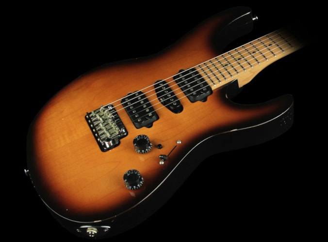 Suhr Guthrie Govan Antique Modern Electric Guitar 2-Tone Sunburst Brand New, $3,591.00