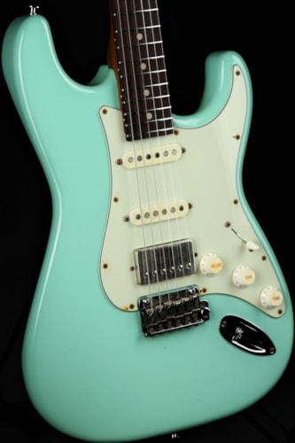 Suhr Limited Edition Classic S Antique Roasted - Surf Green Brand New, GigBag