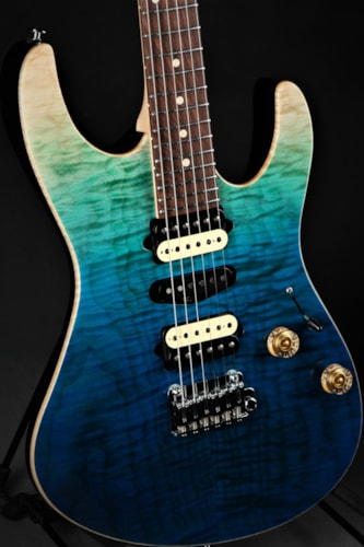 Suhr Limited Edition Modern Plus - Aqua Blue Gradient Brand New, GigBag