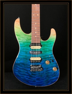 Suhr LTD Edition Modern Plus Curly