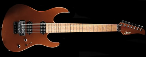 Suhr Modern 7 Electric Guitar w/ Maple Fretboard Root Beer Metallic Root Beer Metallic, Excellent, $2,599.00