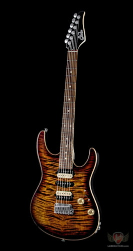 Suhr Modern Custom HSH - Faded Trans Wine Red Burst (T2A)