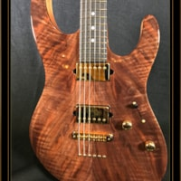 Suhr Modern with Figured Walnut Top and Chambered Body