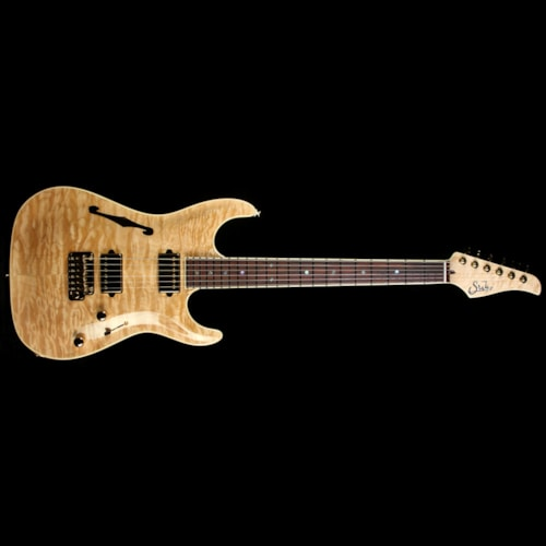 Suhr Standard Archtop Quilt Maple Electric Guitar Natural Natural, Brand New, $5,516.00