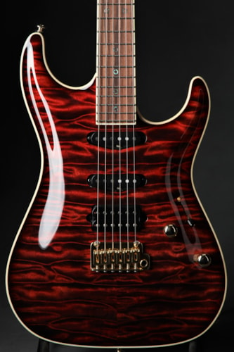 Suhr Standard Carve Top - Custom Color/Signed By John Suhr Brand New, Hard