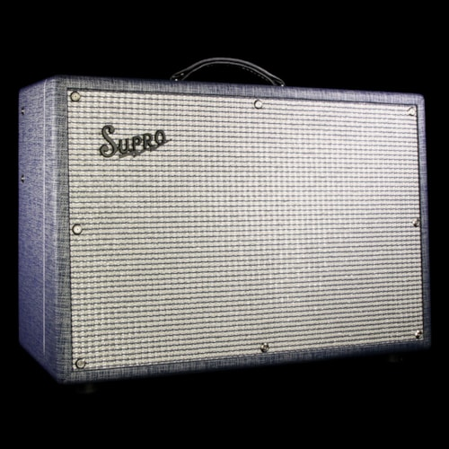 Supro 1624T Dual-Tone 1x12 Electric Guitar Combo Amplifier > Amps & Preamps  | The Music Zoo