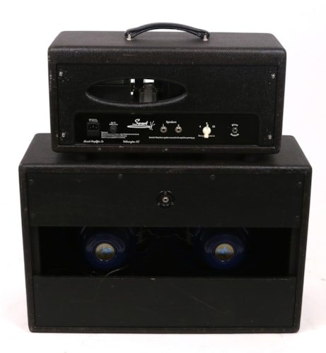Swart Spacetone Amp and 2x12 Cabinet Excellent, $2,295.00