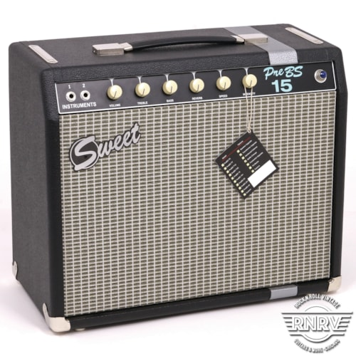 Sweet Amplification PreBS 15 > Amps & Preamps   Rock n Roll Vintage Guitars