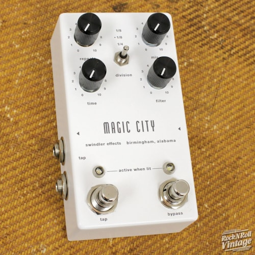 Swindler Effects Magic City Functionalist Delay Brand New, $175.00