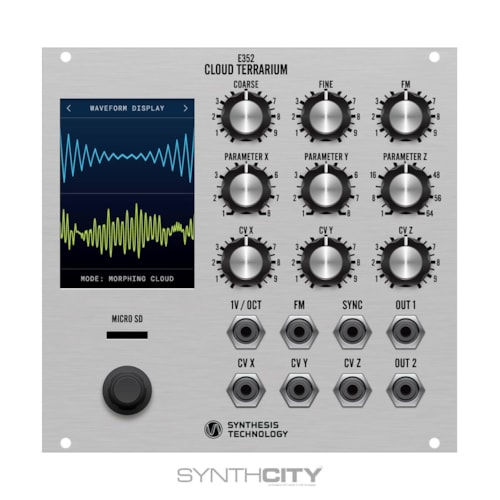 Synthesis Technology E352 Cloud Terrarium Brand New, $469.00