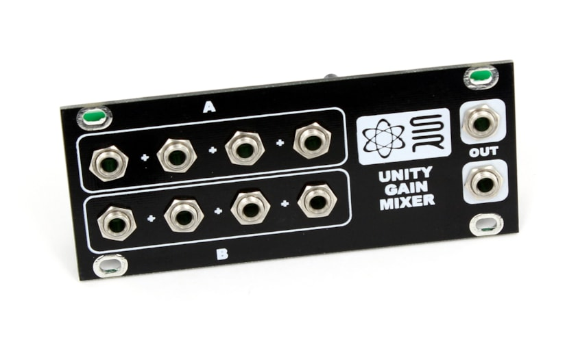 Synthrotek 1U Unity Gain Mixer