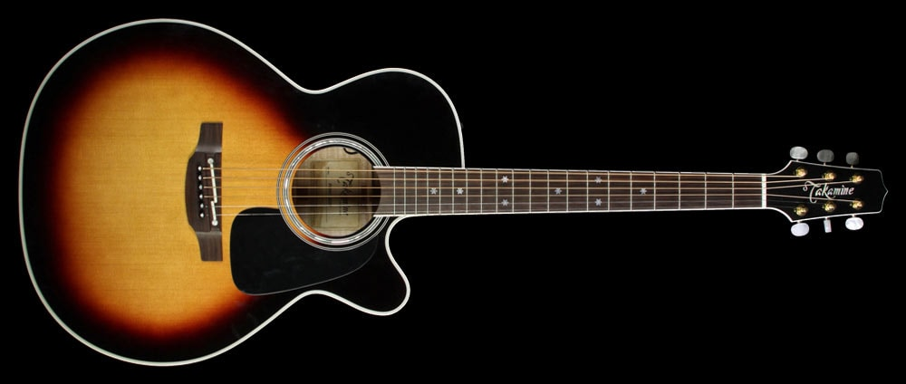 Takamine Used Takamine P6NC NEX Acoustic/Electric Guitar Brown Sunburst Excellent, $1,529.00