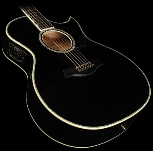 Taylor 2004 Taylor DDSM Doyle Dykes Signature Acoustic/Electric Guitar Ebony Ebony, Excellent, $2,199.00
