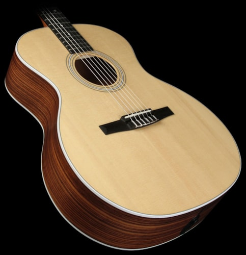 Taylor 2013 Taylor 214e-N Nylon String Acoustic / Electric Guitar Natural Natural, Excellent, $699.00