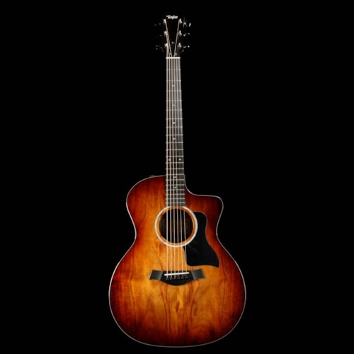 Taylor 224ce-K DLX Koa Acoustic-Electric Shaded Edgeburst Excellent, $1,499.00
