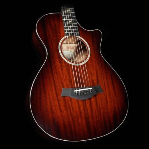 Taylor 522ce 12-Fret Grand Concert Acoustic- Mahogany Shaded Edgeburst Excellent, $2,399.00
