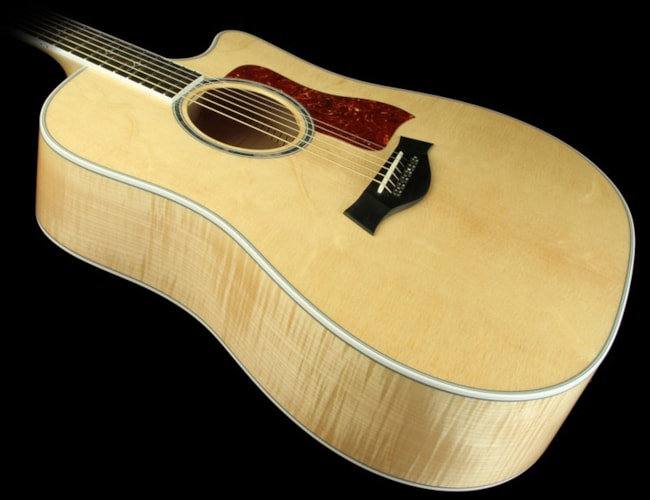 Taylor 610ce Big Leaf Maple Acoustic/Electric Guitar Natural Brand New, $3,199.00