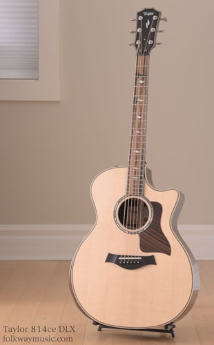 Taylor 814ce-DLX, V-Braced Brand New, Original Hard, Call For Price!