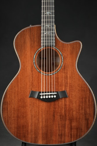 Taylor Custom GA - Quilt Maple/Sinker Redwood/NAMM Instrument